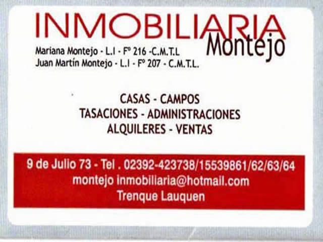 Inmobiliaria Montejo