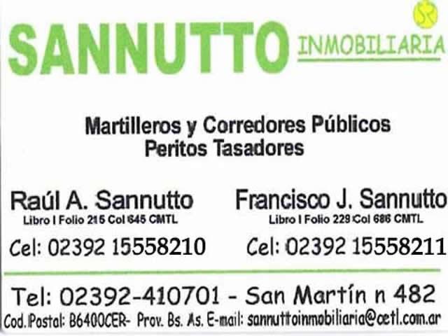 Sannutto inmobiliaria trenque lauquen guia todotrenque - Inmobiliaria sanmartin vigo ...