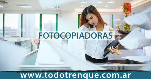 Fotocopiadoras en Trenque Lauquen