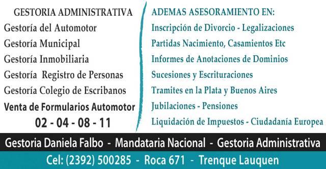Daniela Falbo - Gestora Mandataria