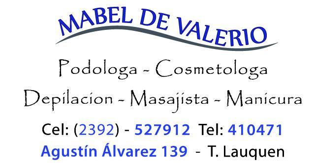 Podologa Mabel de Valerio