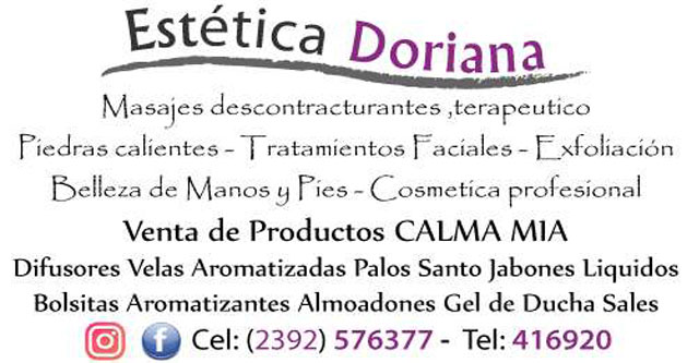 Doriana Esteticista Masoterapeuta
