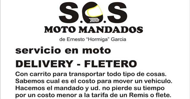 SOS Cadeteria Mensajeria
