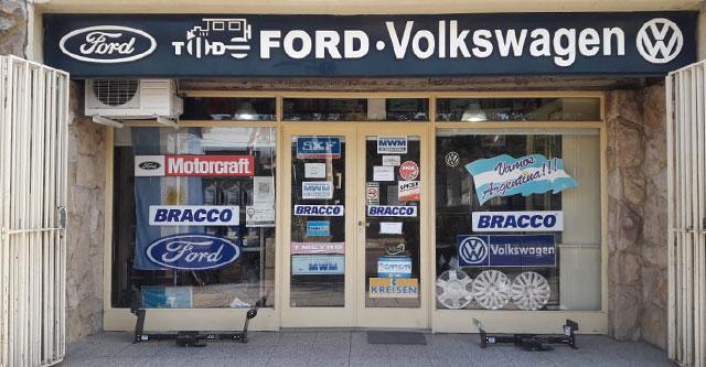 Todo Ford y Volkswagen